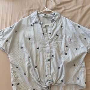 Women's madewell blouse M